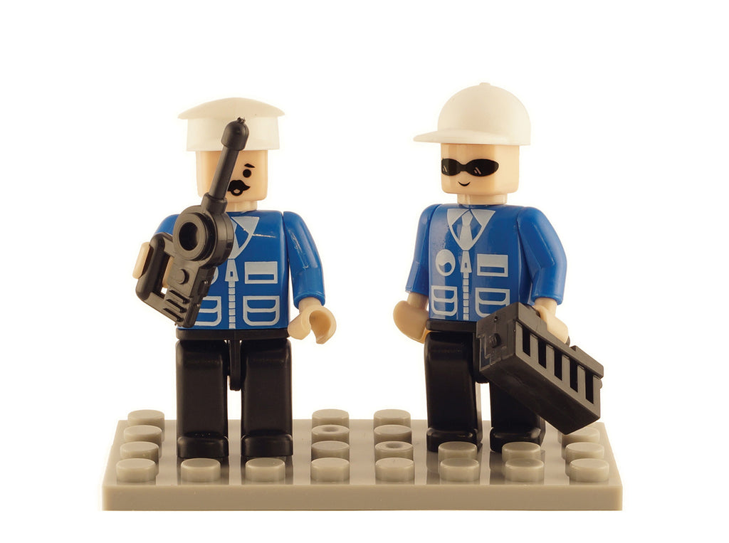 Brictek 2 Mini-figurines Police 19203