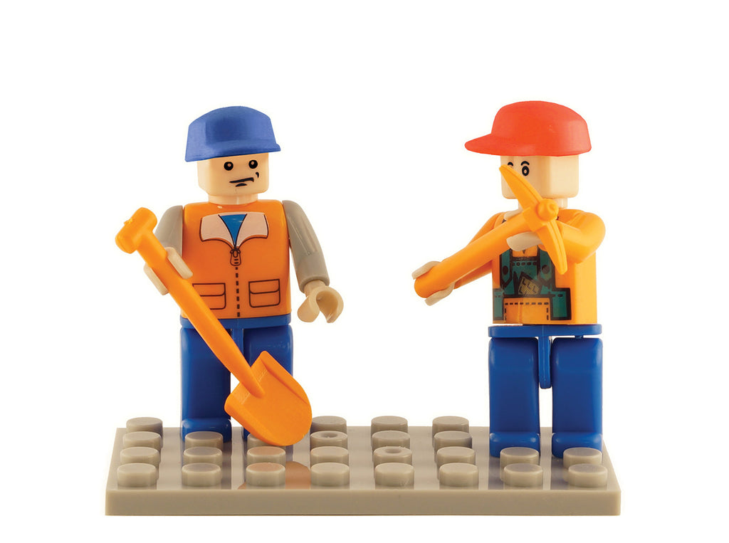 Brictek 2 Mini-figurines Farm 19207