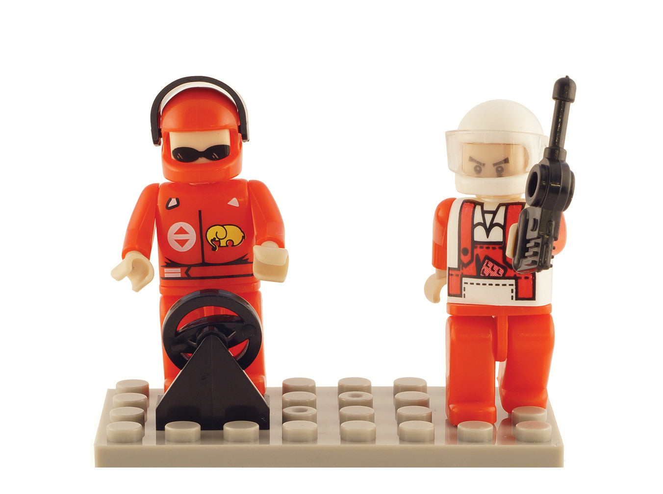 Brictek 2 Mini-figurines Racing 19208