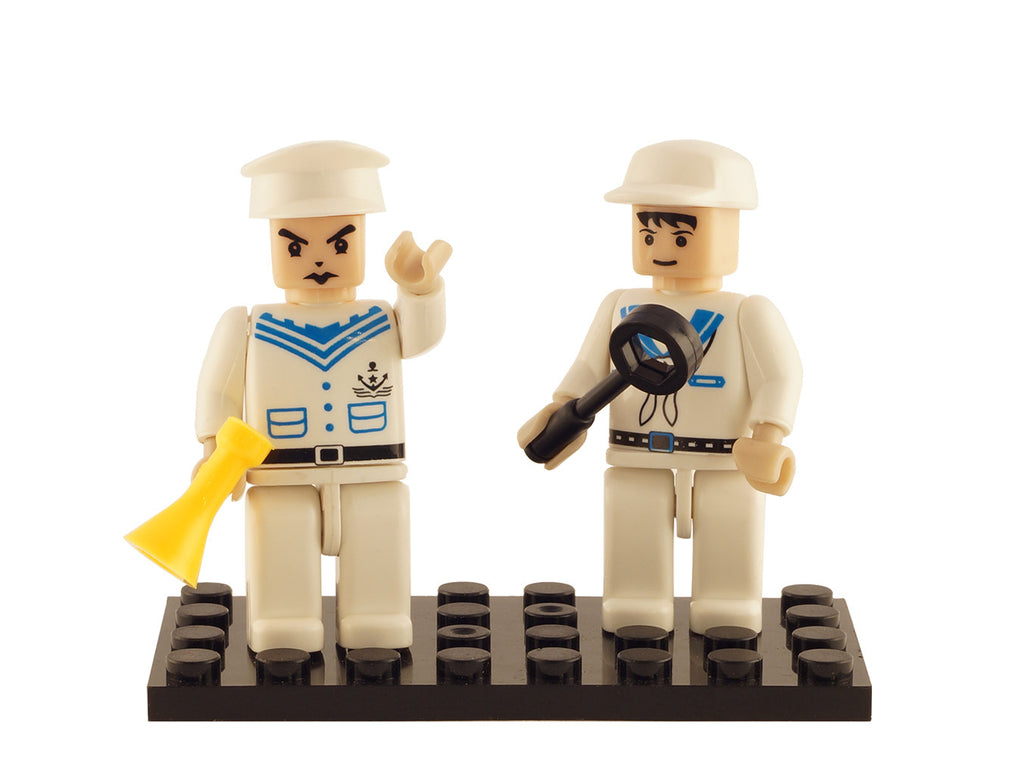 Brictek 2 Mini-figurines Navy 19210
