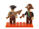 Brictek 2 Mini-figurines Pirates 19212