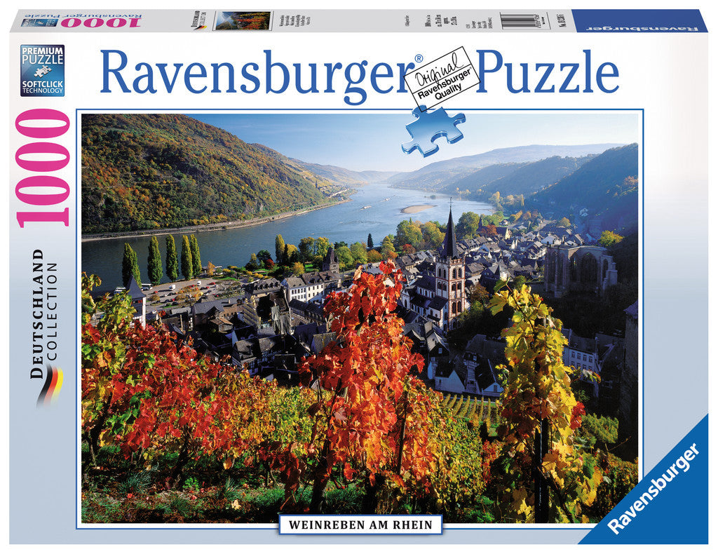 Ravensburger Adult Puzzles 1000 pc Puzzles - On the River Rhine 19236