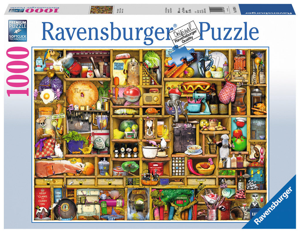 Ravensburger Adult Puzzles 1000 pc Puzzles - Kitchen Cupboard 19298