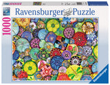 Ravensburger Adult Puzzles 1000 pc Puzzles - Beautiful Buttons 19405
