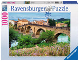 Ravensburger Adult Puzzles 1000 pc Puzzles - Puente la Reina, Spain 19425