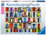 Ravensburger Adult Puzzles 1000 pc Puzzles - Doors of the World 19524