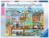 Ravensburger Adult Puzzles 1000 pc Puzzles - Along the Wharf 19602