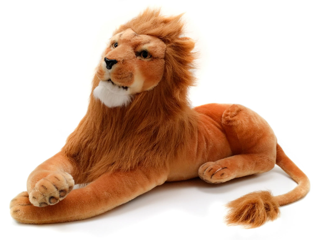 Viahart 40 Inch Lion Stuffed Animal Plush - Lasodo The Lion