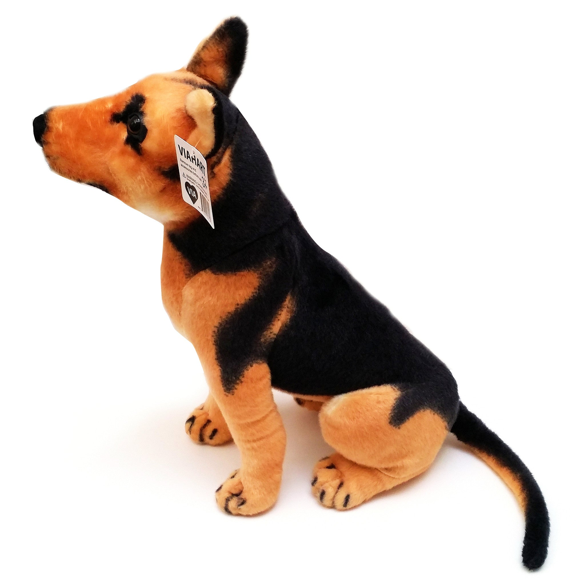 VIAHART 20 Inch German Shepherd Stuffed Animal Plush - Gunther the German Shepherd