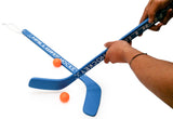 VIAHART Hallway Hockey Indoor/Outdoor Wooden Knee Hockey Game