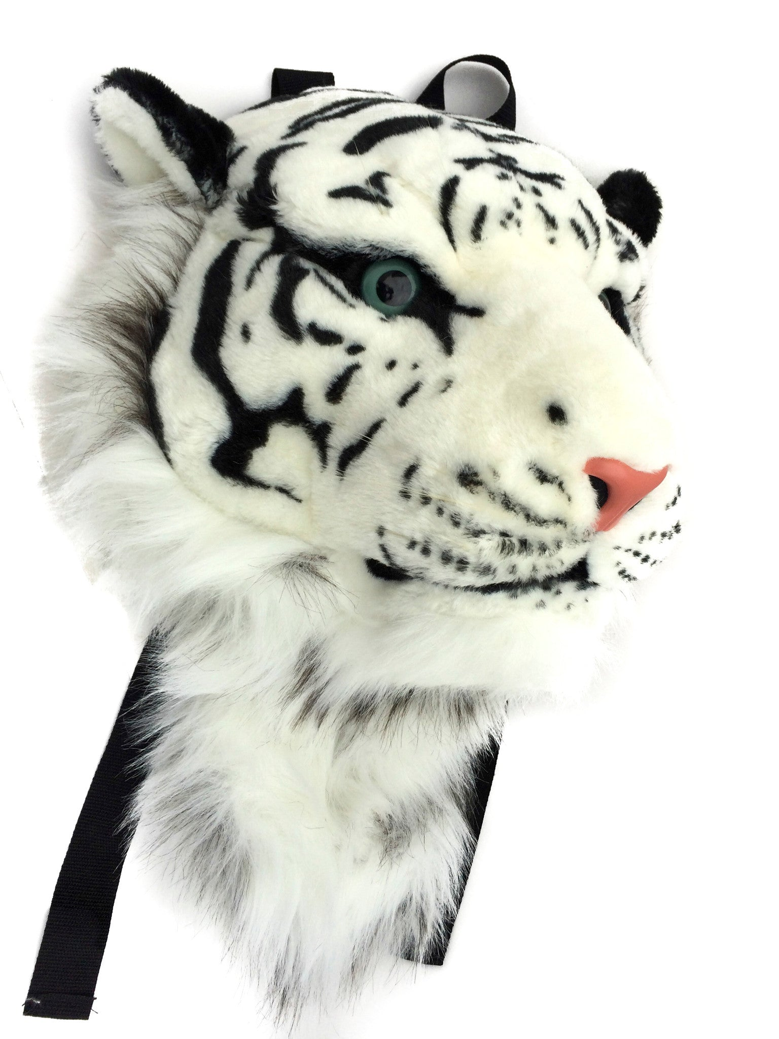 VIAHART Authentic Tigerdome White Siberian Tiger Backpack