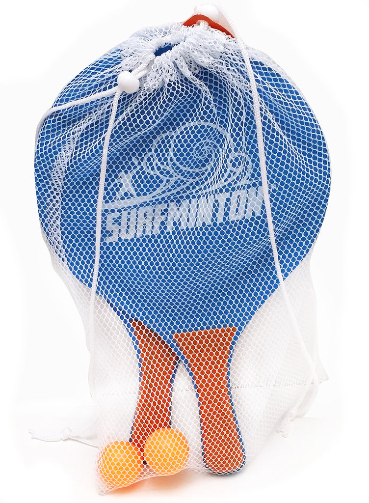 Viahart Surfminton Classic Beach Tennis Wooden Paddle Game