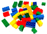 VIAHART Set of 36 Super Sized Generic Building Blocks