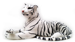 VIAHART 72 Inch Giant White Siberian Tiger Stuffed Animal Plush - Timurova the Tiger