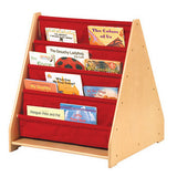 Guidecraft Classroom Furniture - 2 Sided Canvas Book Display G6428