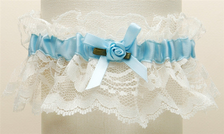 Hand-Sewn Vintage Lace Wedding Garters