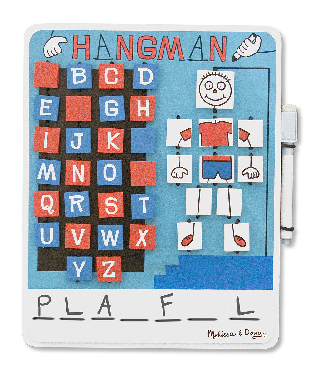 Melissa & Doug Flip to Win Hangman 2095