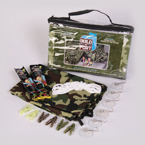 Be Amazing Toys Green Camouflage Build-a-Fort 2100
