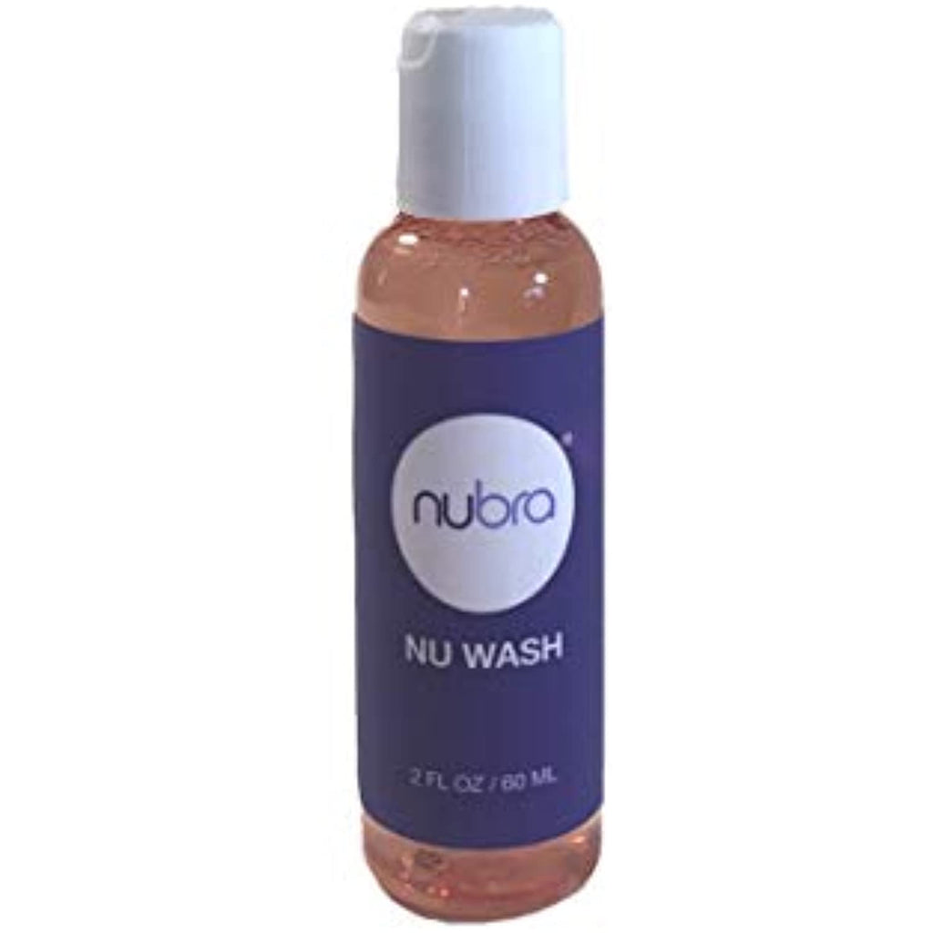 Nu Wash N112 Nubra Cleanser by Bragel for Silicone Adhesive Bras - 2 FL OZ / 60 ML
