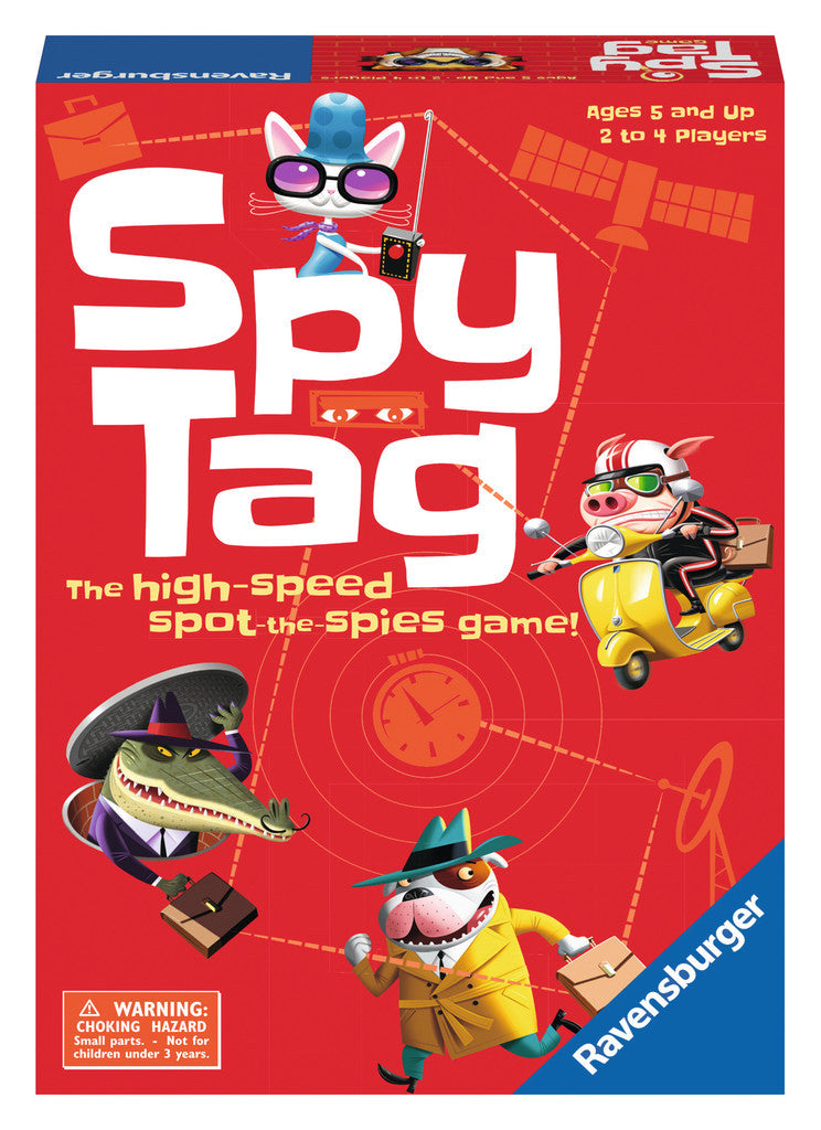 Ravensburger Children's Games - Spy Tag 22291