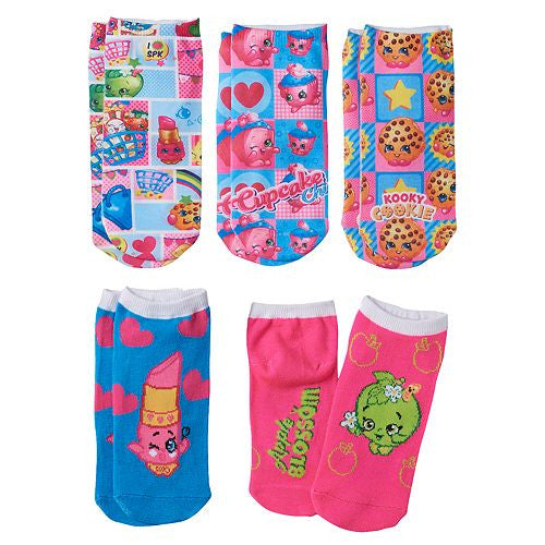 Shopkins - 5 Pack Socks