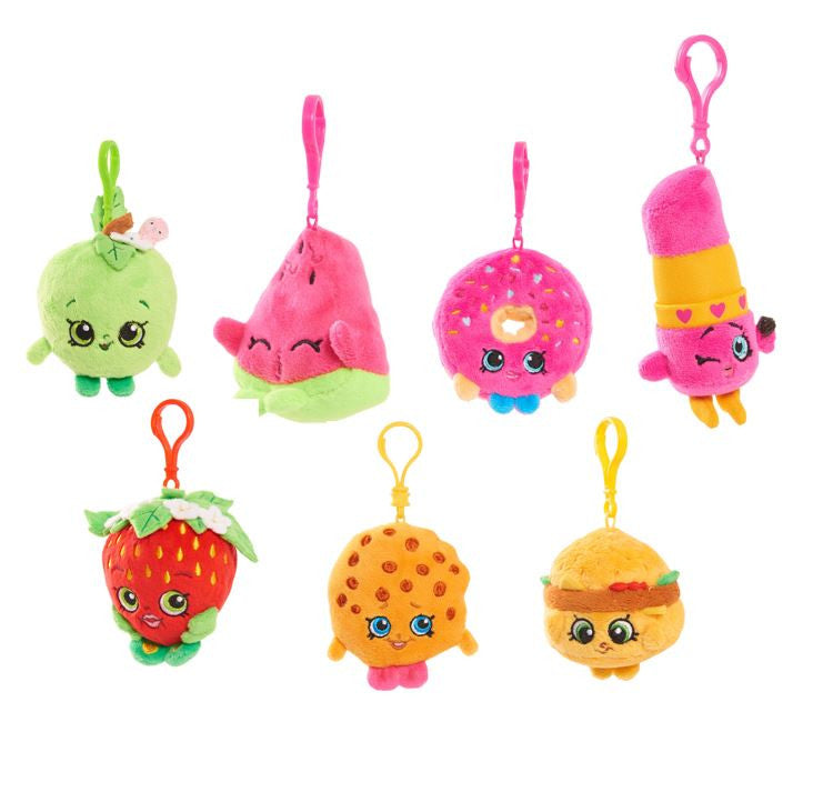 "Shopkins - 4"" Plush Clip Assortment"