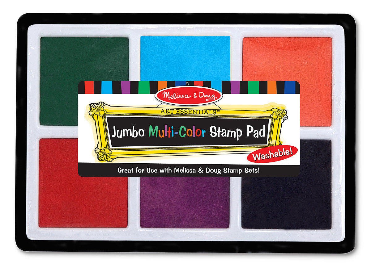 Melissa & Doug Jumbo Multi-Color Stamp Pad 2419