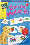 Ravensburger Play & Learn - Can You Match It? 24378