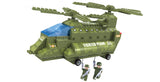 Brictek Army Double Rotor Helicopter 25708