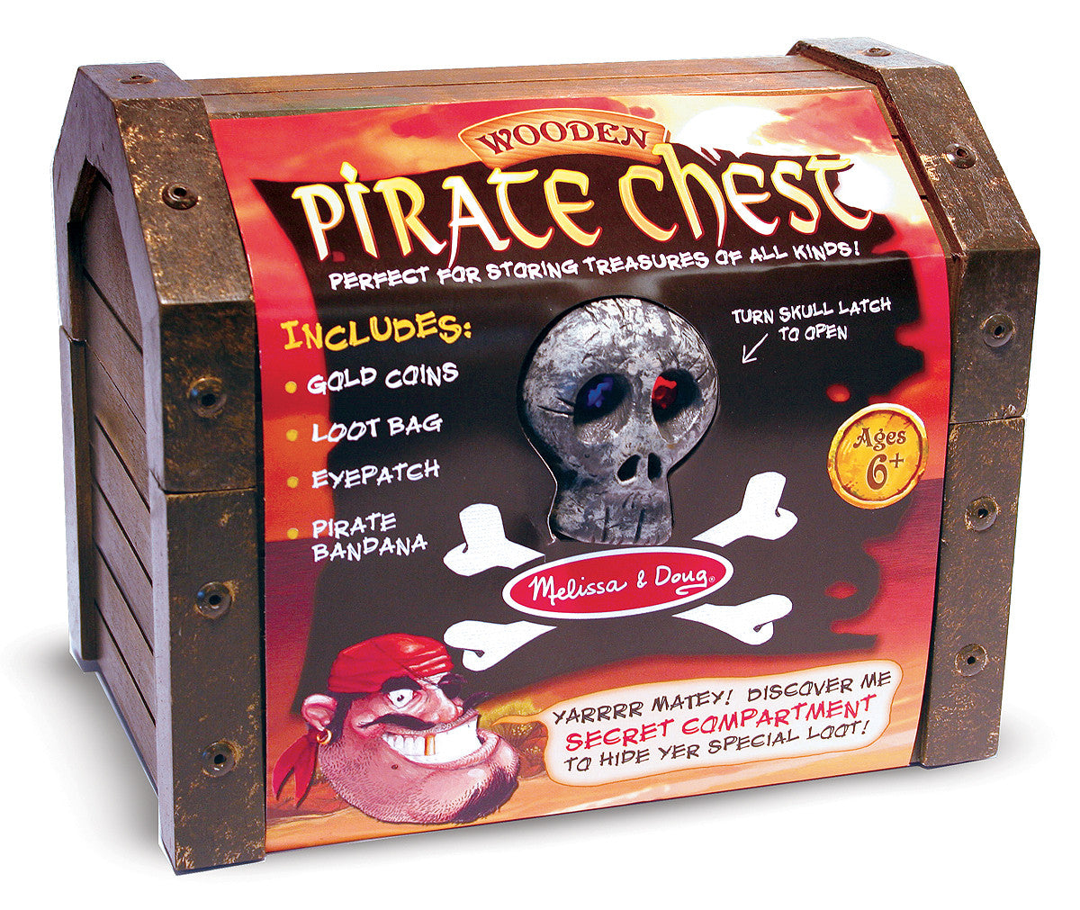 Melissa & Doug Pirate Chest 2576