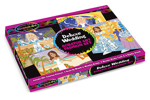 Melissa & Doug Deluxe Wedding Scratch Art Set
