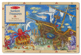 Melissa & Doug Sunken Treasures Wooden Jigsaw Puzzle (96 pc)