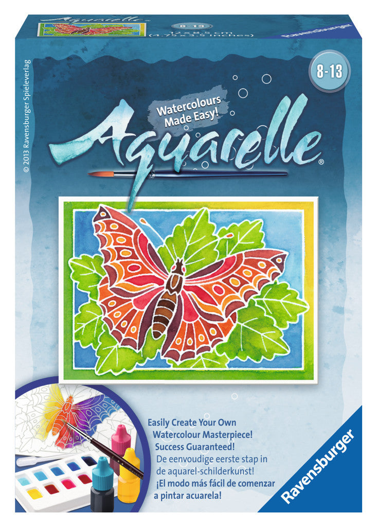 Ravensburger Arts & Crafts Aquarelle Mini - Butterfly 29161