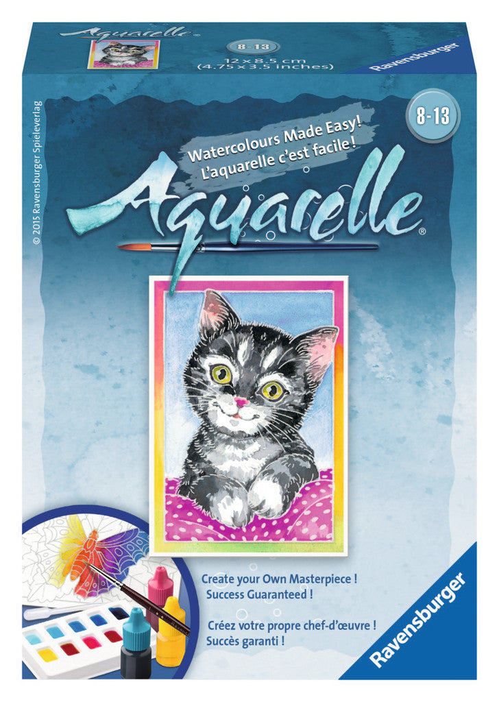 Ravensburger Arts & Crafts Aquarelle Mini - Cat 29183