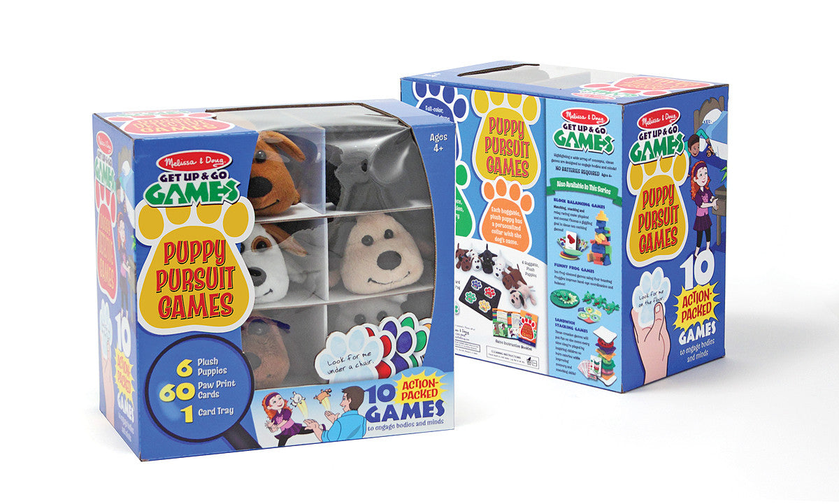 Melissa & Doug Puppy Pursuit Games 3055