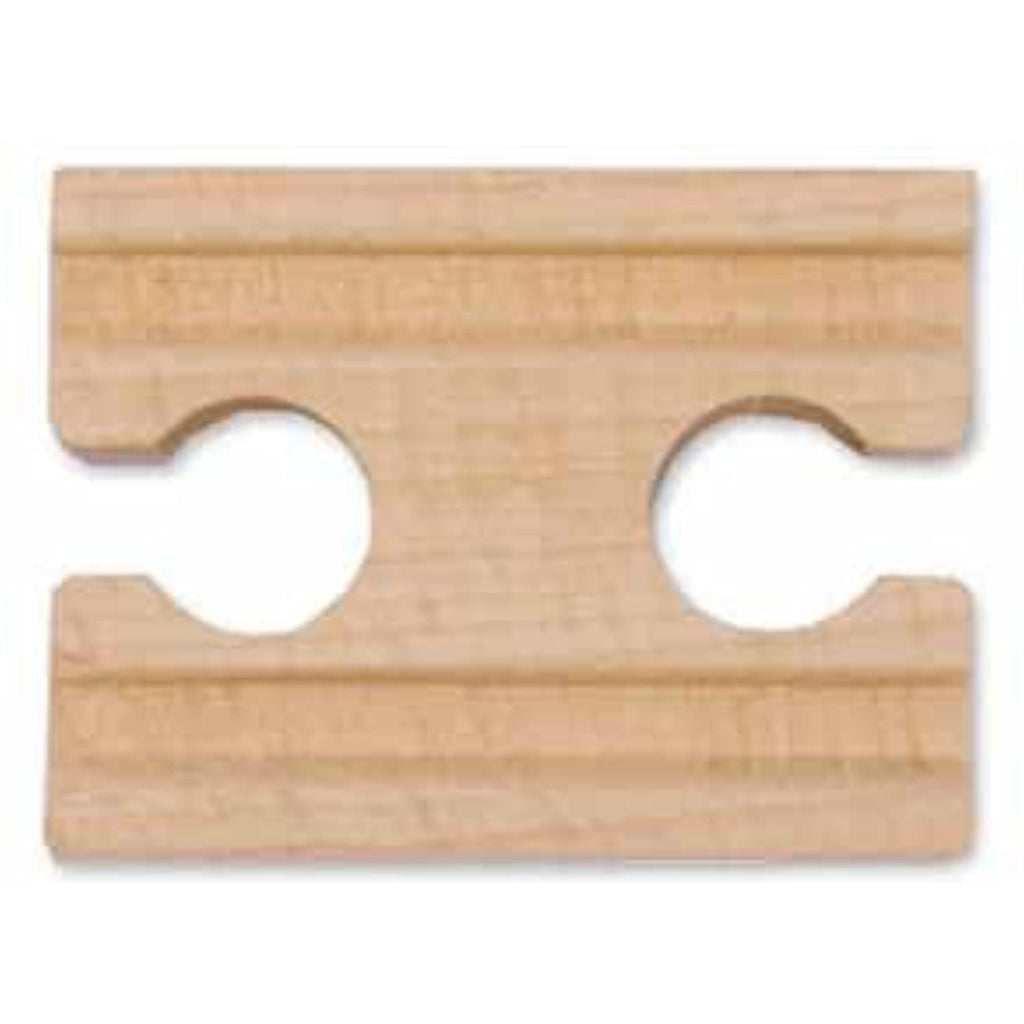 "2"" Wooden Straight Track Female (Six Pack) by Melissa and Doug"