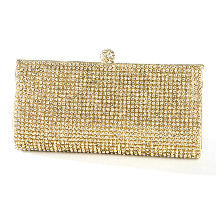 Evening Bag with Bezel Set Crystals 3287EB