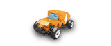 LaQ Hamacron Constructor - Mini Racer 4 - Orange LAQ001535 by LaQ Blocks