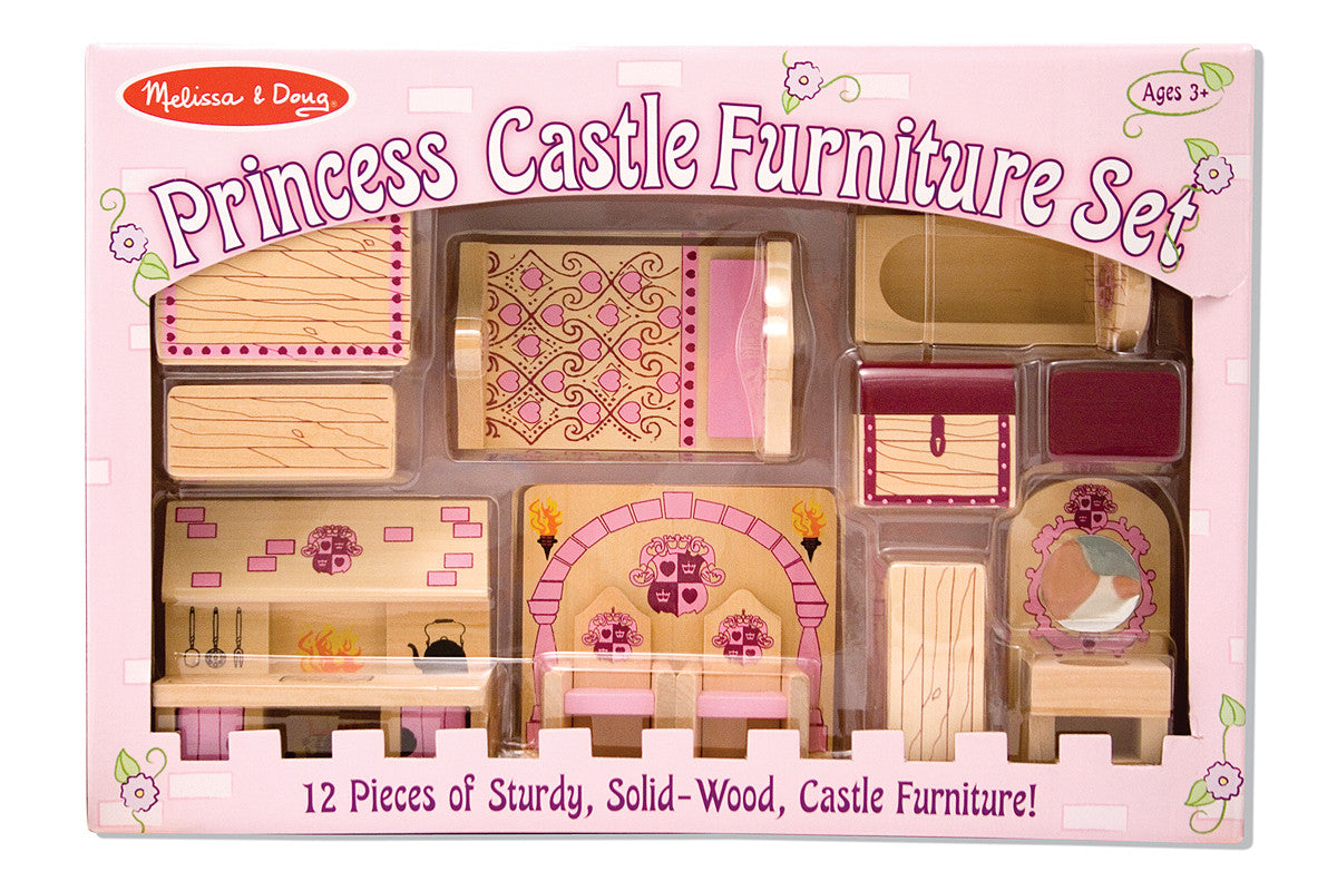Melissa & Doug Princess Castle Furniture Set 3570