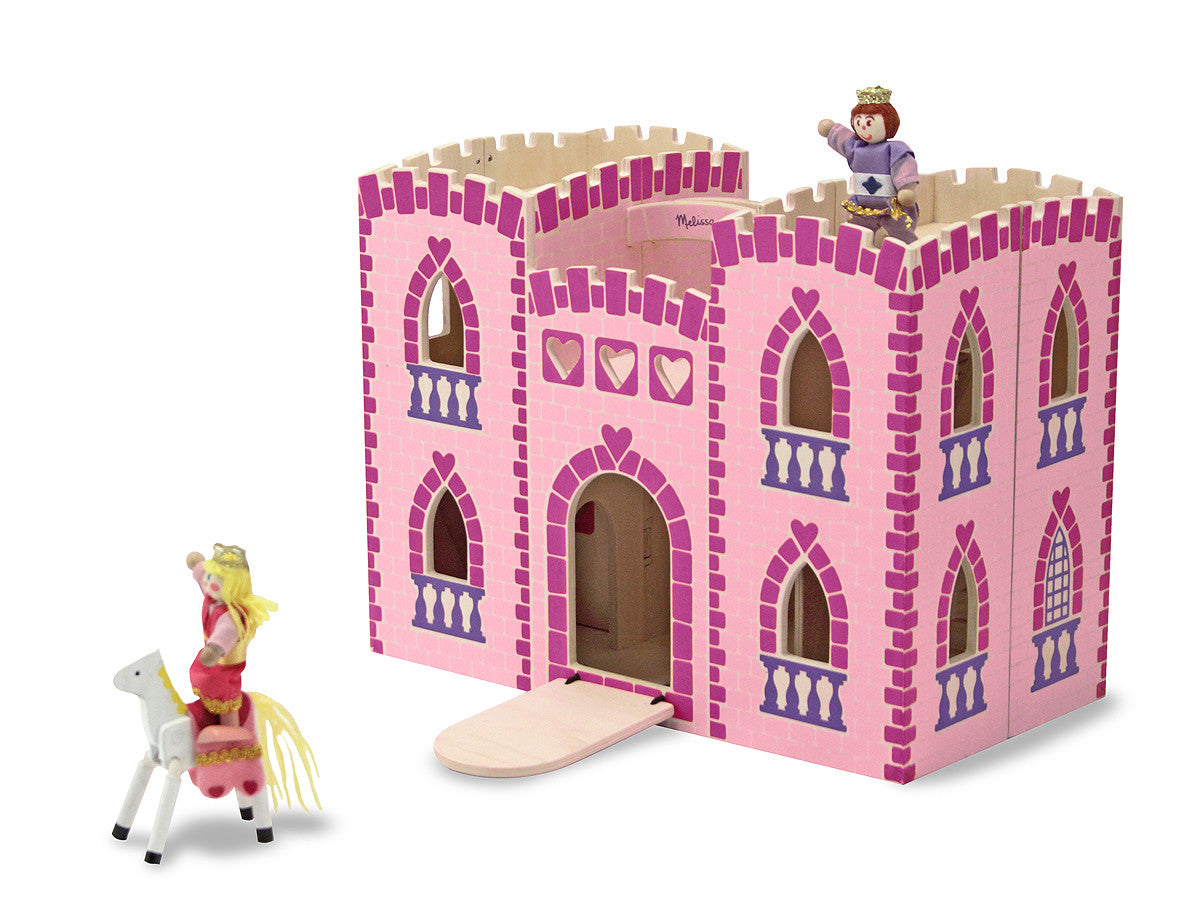 Melissa & Doug Fold & Go Princess Castle 3708