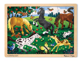 Melissa & Doug Frolicking Horses Jigsaw (48 pc)