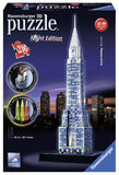 Ravensburger 3D Puzzles Chrysler Building - Night Edition 12595