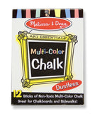 Melissa & Doug Multi-Colored Chalk (12 pc) 4130