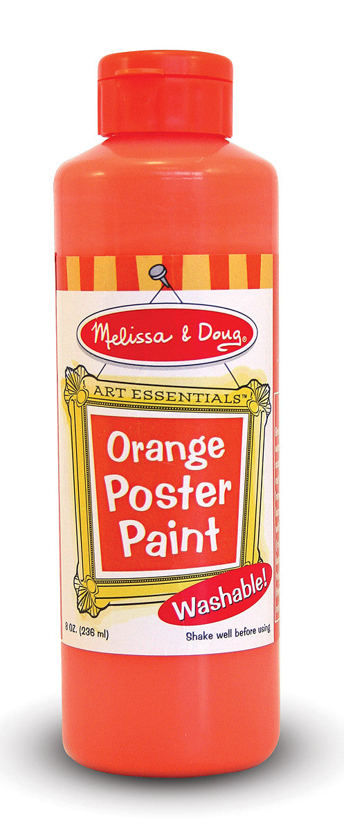 Melissa & Doug Orange Poster Paint (8 oz) 4138