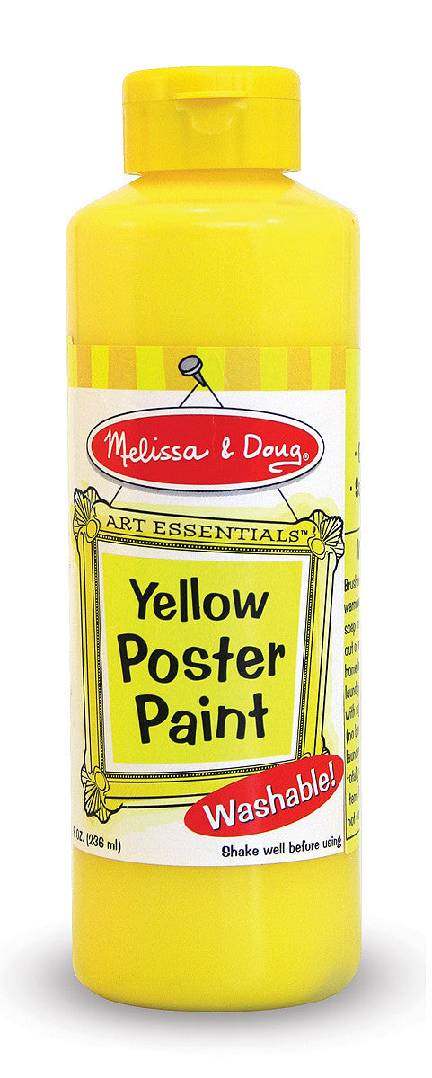 Melissa & Doug Yellow Poster Paint (8 oz) 4139