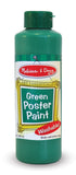 Melissa & Doug Green Poster Paint (8 oz) 4140