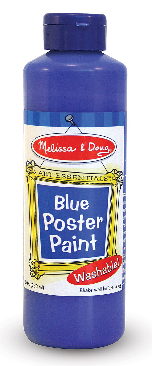 Melissa & Doug Blue Poster Paint (8 oz) 4141