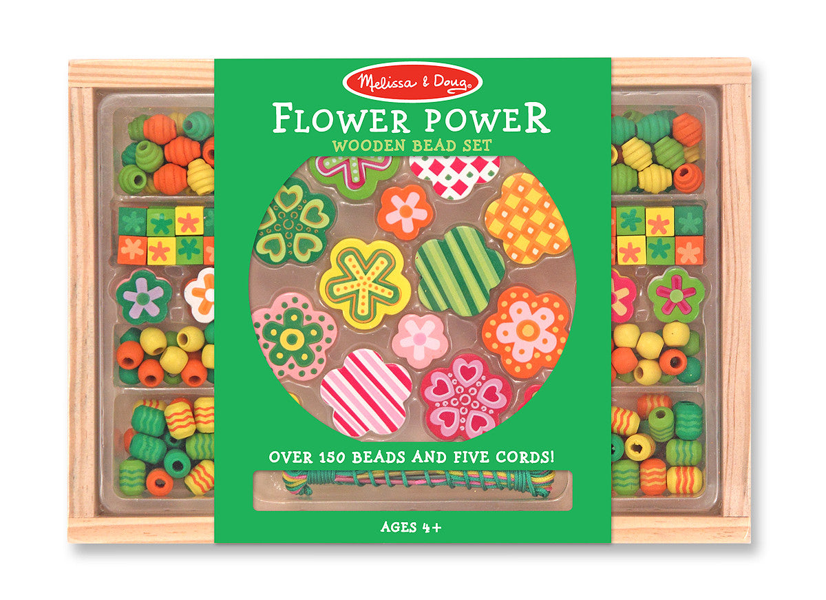 Melissa & Doug Flower Power Bead Set 4178