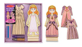 Melissa & Doug Magnetic Princess Fashions - DYO