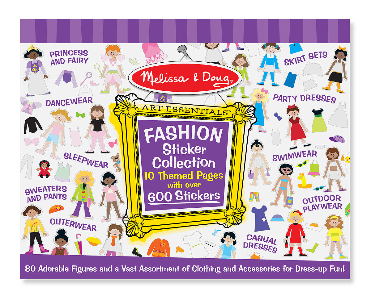 Melissa & Doug Sticker Collection - Fashion